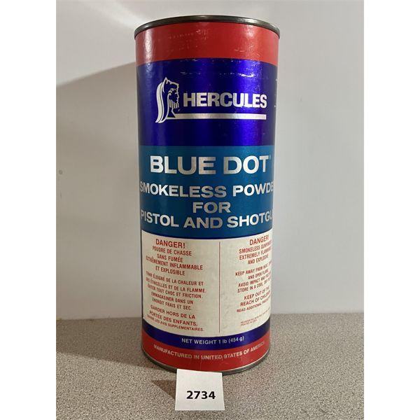POWDER: 1 LB HERCULES BLUE DOT