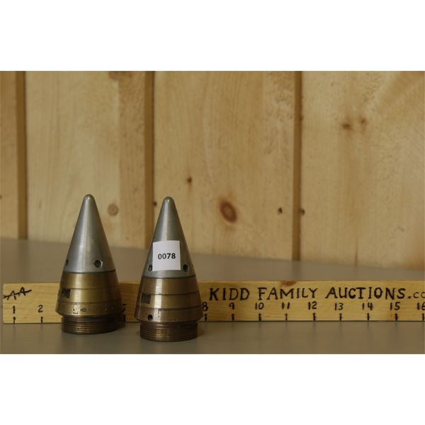 LOT OF 2 NCR / C AND SM / C BULLETS