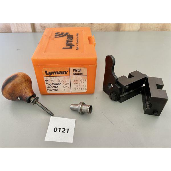 LYMAN .38 CAL BULLET MOULD