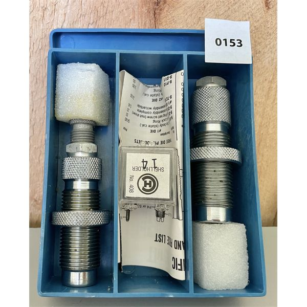 PACIFIC 6.5 X 54 MS RELOADING DIE SET - VG CONDITION