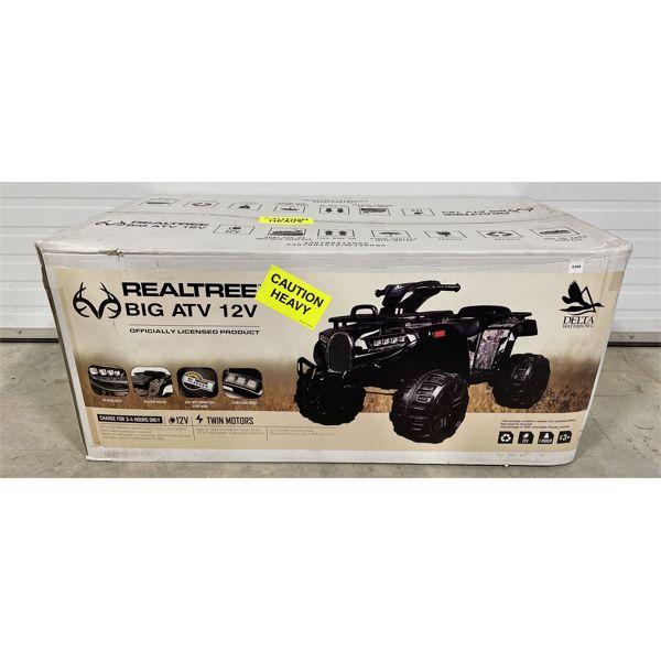 REALTREE BIG ATV 12V - NEW IN BOX