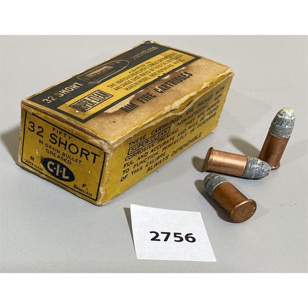 AMMO: 31X CIL 32 SHORT RF
