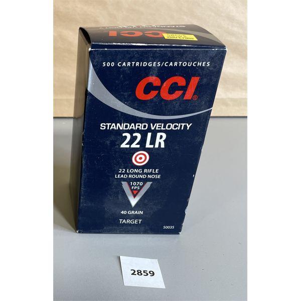 AMMO: 500 X CCI .22 LR