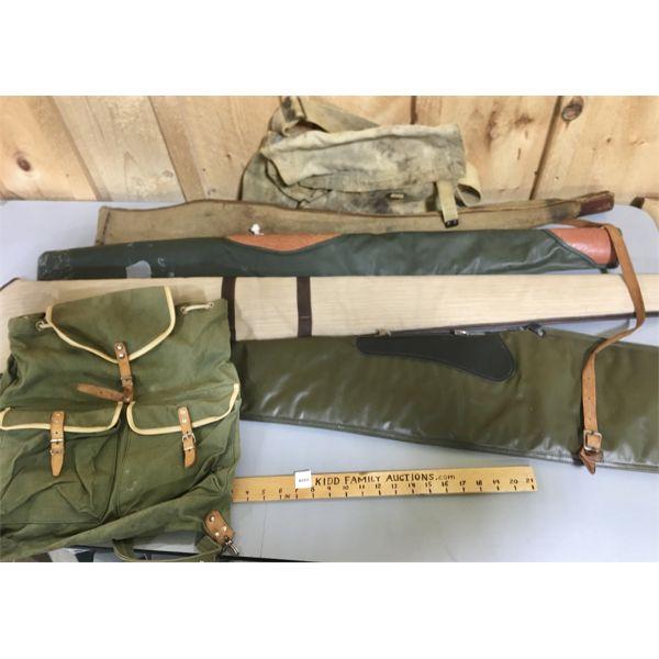 JOB LOT - SOFT LONG GUN CASES & GEAR BAGS