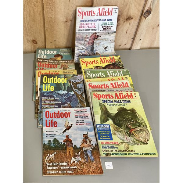 LARGE QTY OF 1960'S SPORTING MAGAZINES