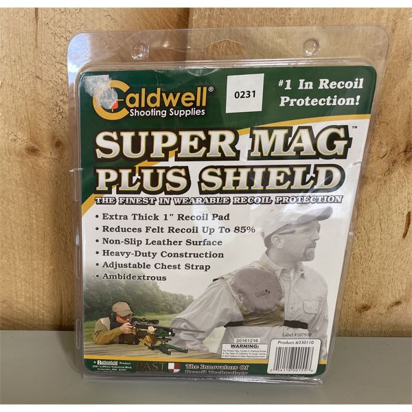 CALDWELL SHOULDER RECOIL PAD - NEW IN PKG
