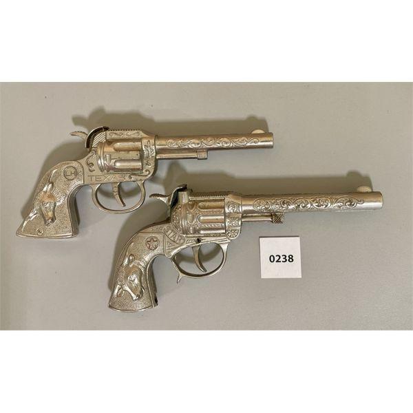 LOT OF 2 - 1950's HUBLEY STAR CAP GUN