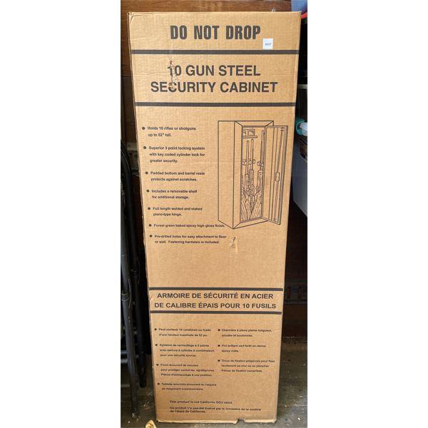 STACK-ON ALLEGIANCE MODEL 10 GUN CABINET - NEW IN BOX