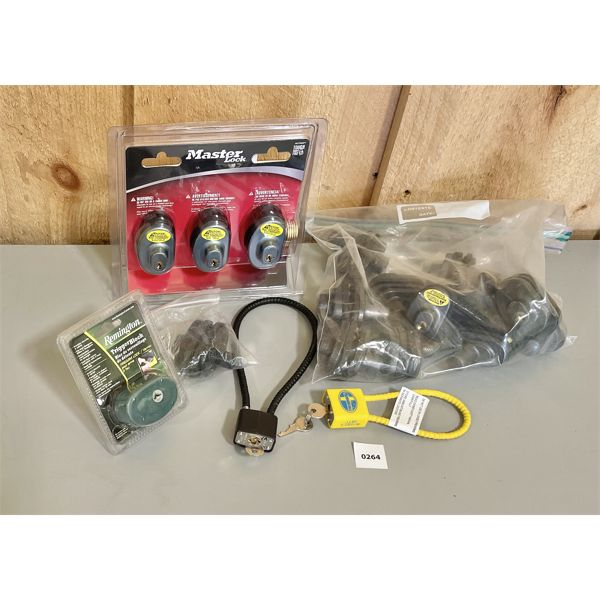 QTY OF TRIGGER / CABLE LOCKS