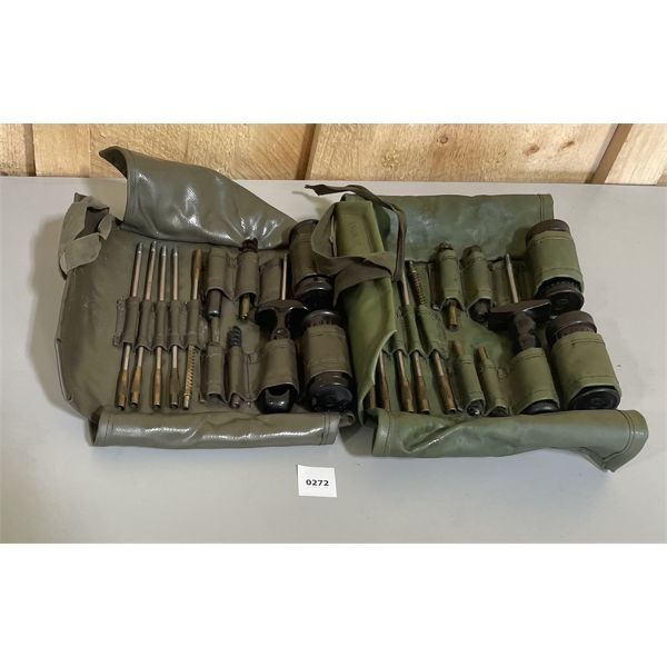 LOT OF 2 - SWISS 30 CAL GUN CLEANING KITS