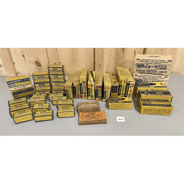JOB LOT - LARGE QTY OF VINTAGE AMMO BOXES - CIL