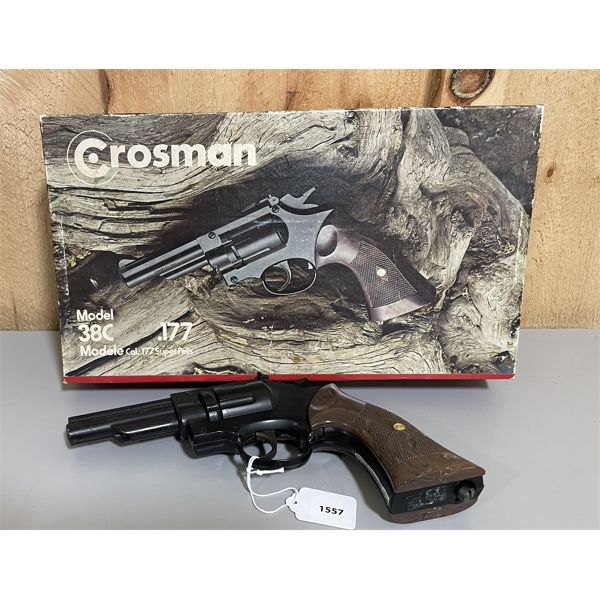 CROSMAN 38C .177 PELLET GUN