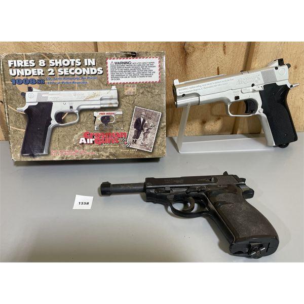 LOT OF 2 AIR GUNS - CROSMAN 1008 SB & CROSMAN 338 AUTO