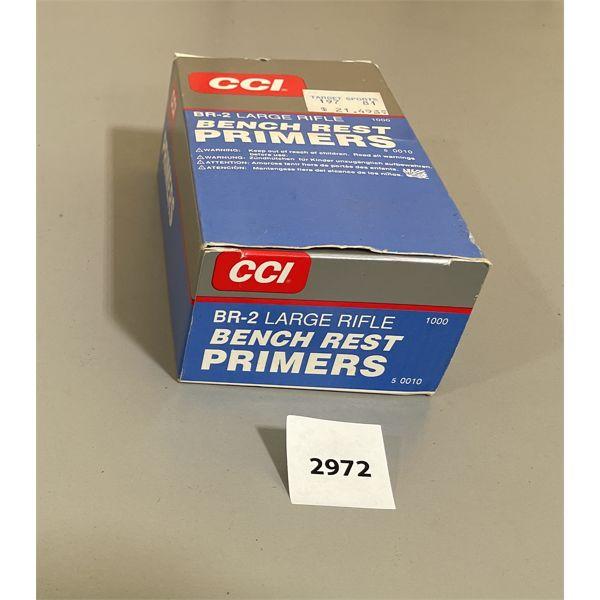 AMMO: 1000 X CCI BR-2 PRIMERS