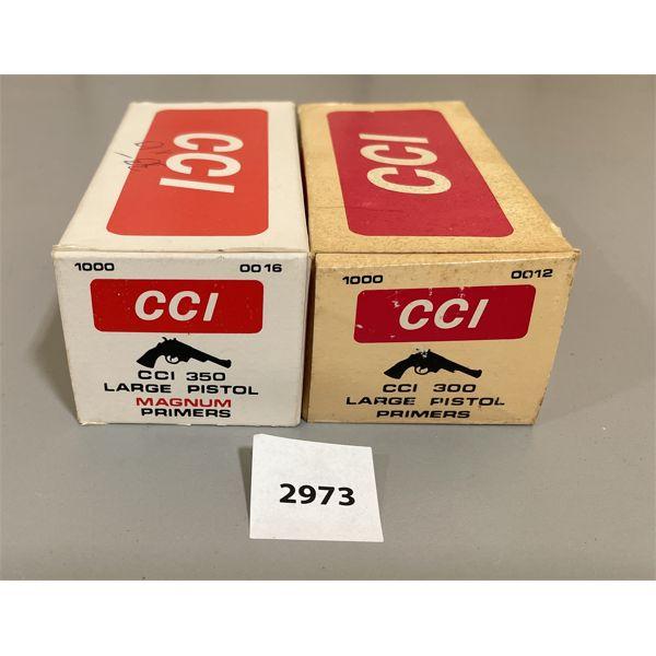 AMMO: 2000 X CCI 300, 350 PRIMERS