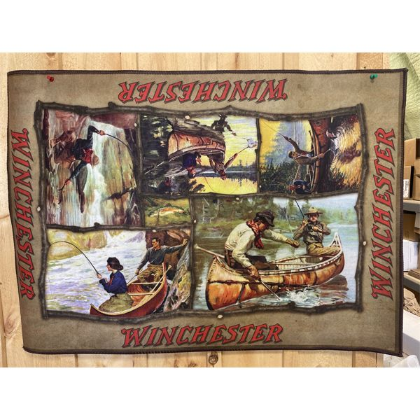 """WINCHESTER FLOOR RUG 37"""" X 52"""" - VG CONDITION"""