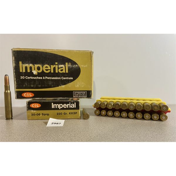 AMMO: 59X 30-06 SPRG MIXED- MOSTLY 220GR