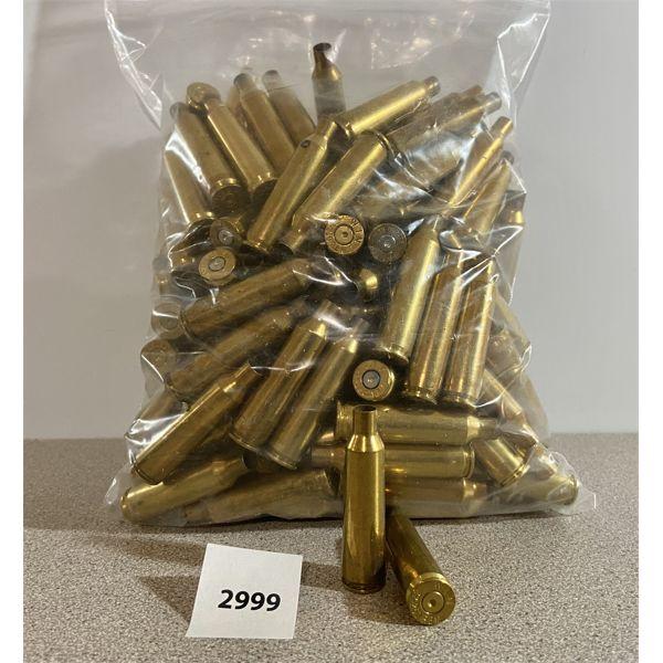 BRASS: 150X 22-250 REM- MIXED MAKES
