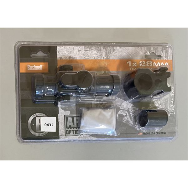 BUSHNELL RED DOT SCOPE. NEW IN BOX.