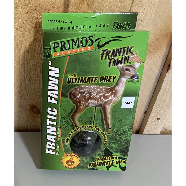 PRIMOS FRANTIC-FAWN DECOY. NIB.