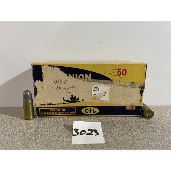 AMMO: 50X CIL 38 S&W 145GR