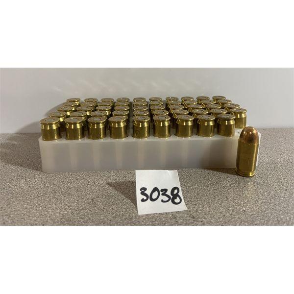 AMMO: 50X BLAZER BRASS 45 ACP 230GR FMJ