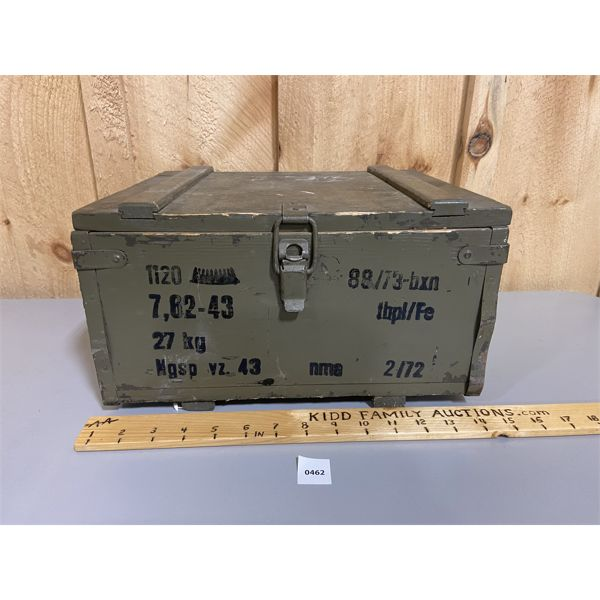 MILITARY AMMO CRATE