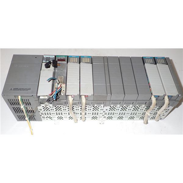 Allen Bradley #1746-A10 Rack w/ Modules