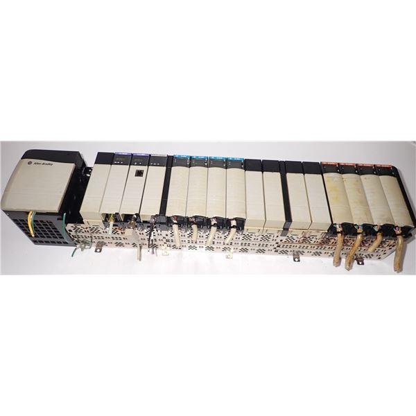 Allen Bradley #1756-A17 Rack w/ Modules