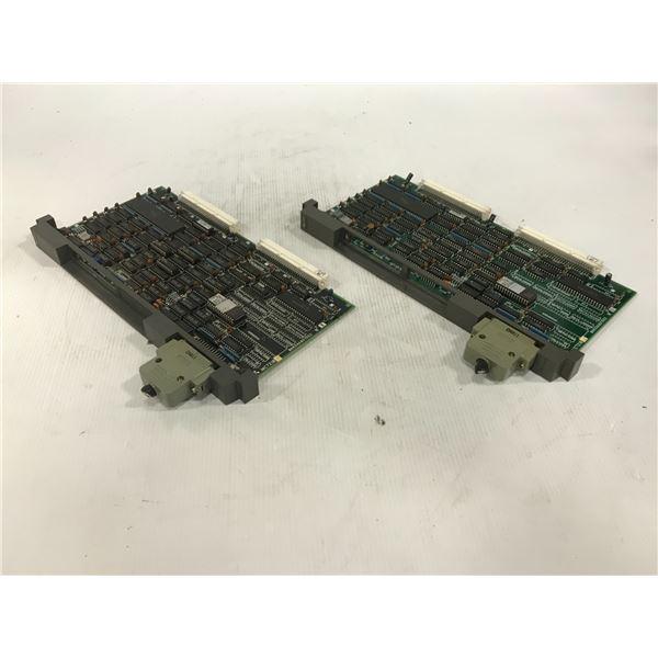 (2) MITSUBISHI MC721B-1 CIRCUIT BOARD