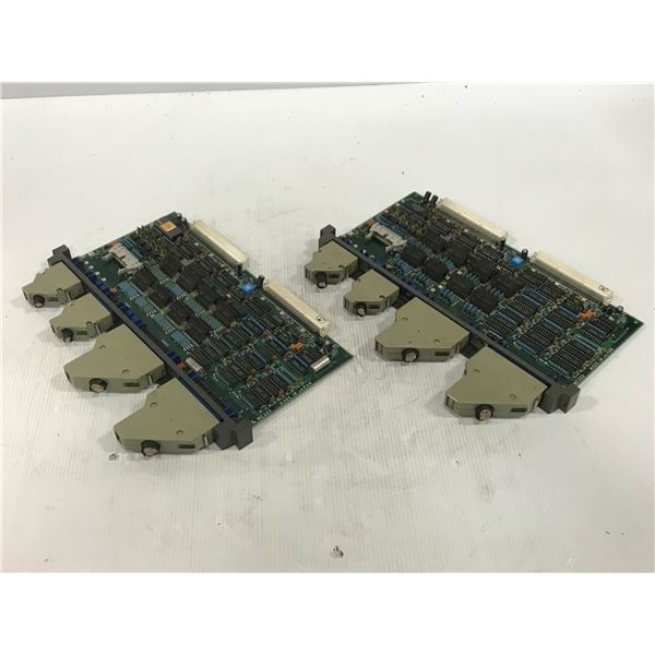 (2) MITSUBISHI MC323D CIRCUIT BOARD