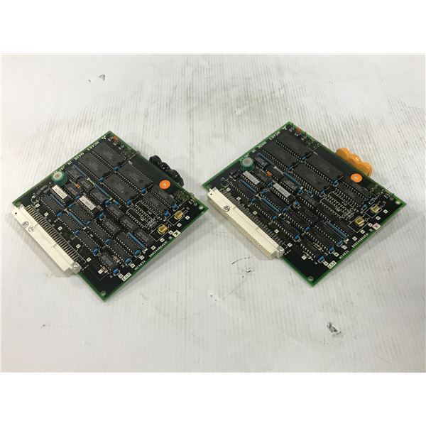 (2) MITSUBISHI MC463A CIRCUIT BOARD