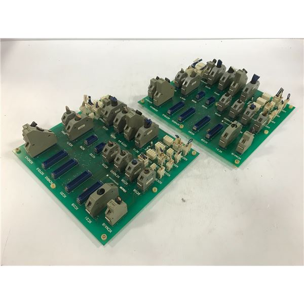 (2) MITSUBISHI / MAZAK D65RA002681 CIRCUIT BOARD