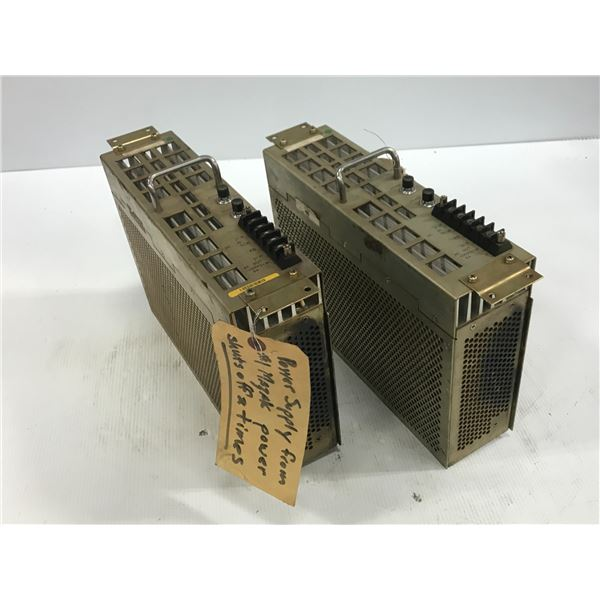 LOT OF MITSUBISHI PD14A POWER SUPPLY * FOR PARTS *