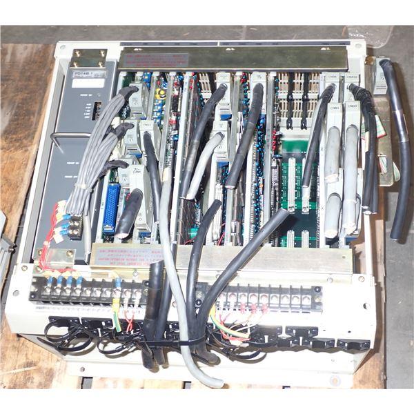 Mitsubishi Rack #UF701B w/ Power Supply & Boards