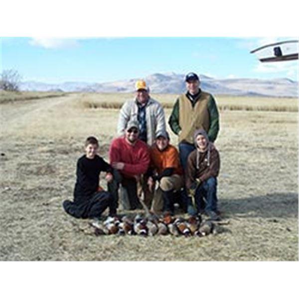 Utah Pheasant Hunt for 2 on Private Reserve