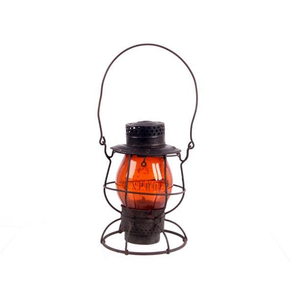 Dietz Vulcan Red Lens Railroad Lantern