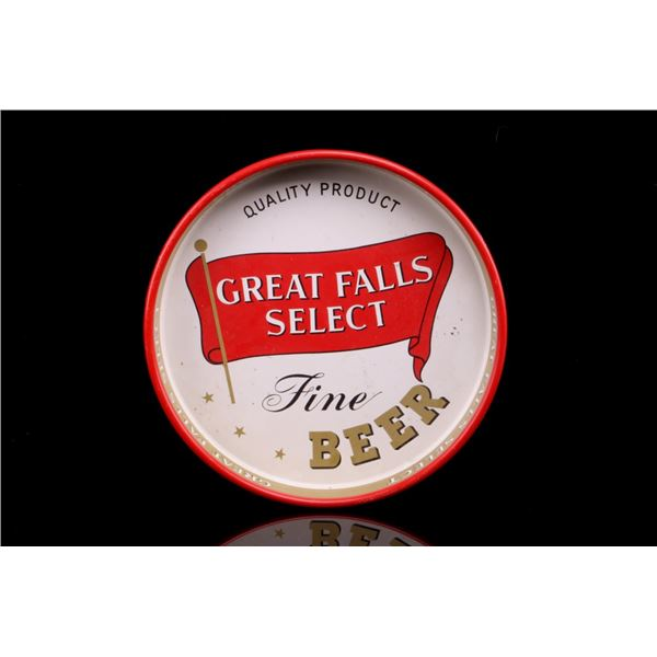 Montana, Great Falls Select Fine Beer Tray