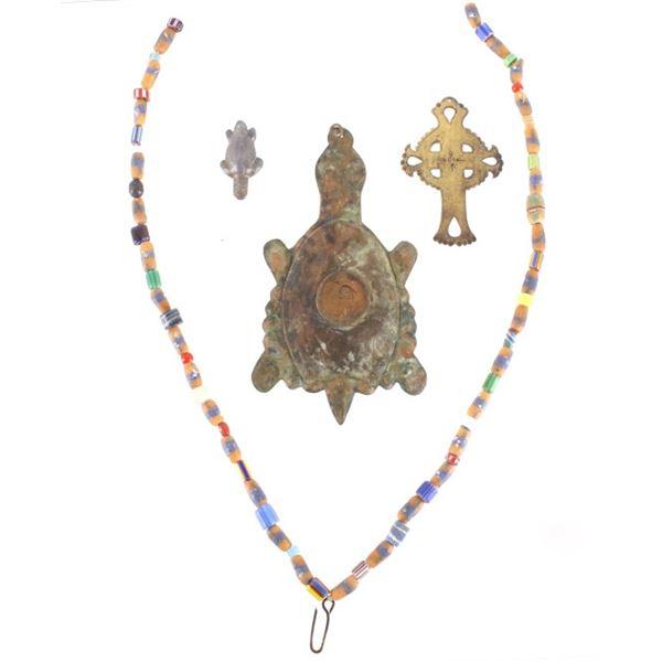 Hudson Bay Pendants & Trade Bead Necklace
