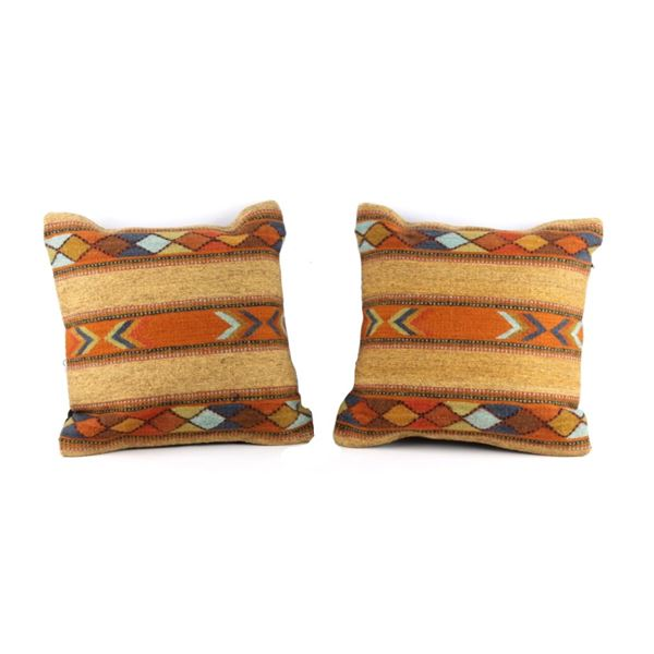 Cintas Juarez Wool Pillow Set of Two Juan Alavez