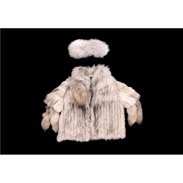 Alaska Fur Gallery Fox Fur Hat & Coat c. Mid 1900s