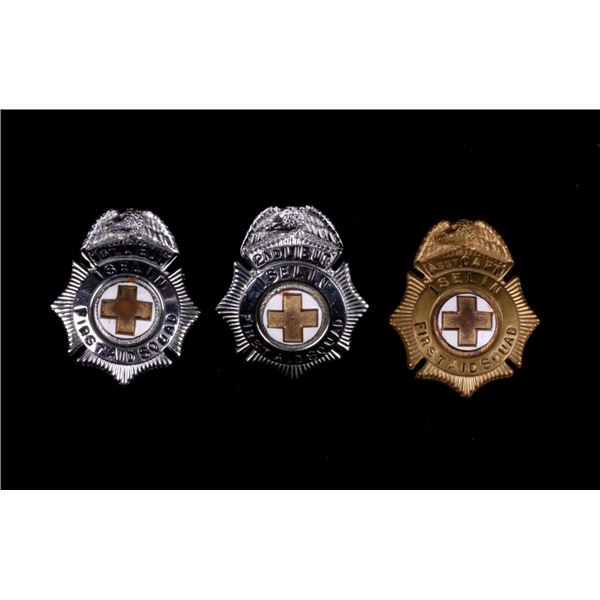 Iselin, New Jersey First Aid Squad Hat Badges