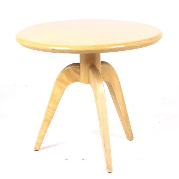 Mid Century Heywood Wakefield Circular Table