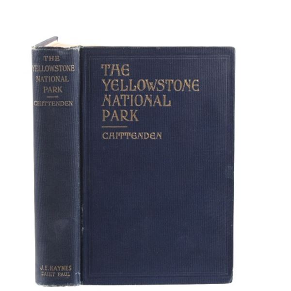 1920 The Yellowstone National Park By Chittenden
