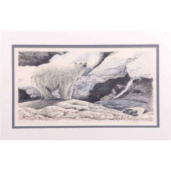 Terry Isaac Original Polar Bear Signed Master