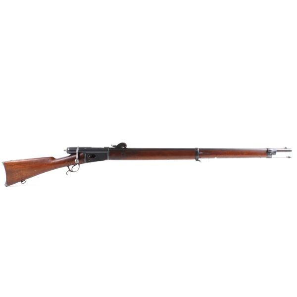 Swiss Vetterli Model 1878 Bolt Action Rifle