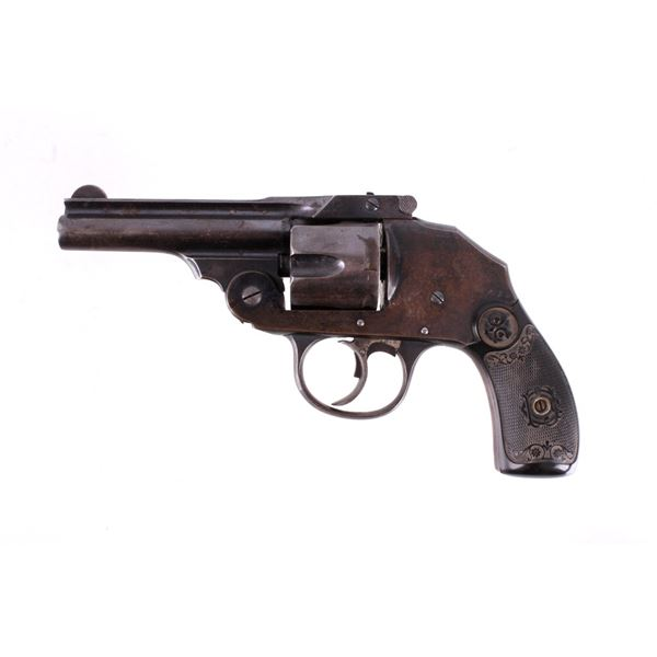 Iver Johnson .38 Safety Hammerless D/A Revolver