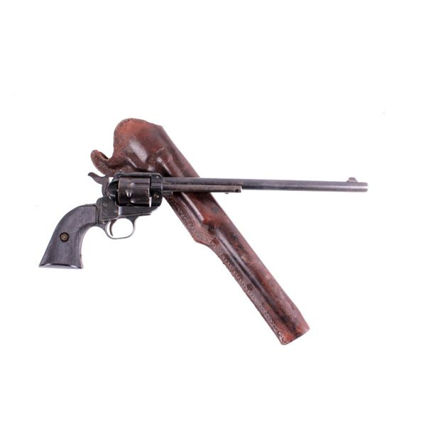 "Long 11"" Barrel .22 Caliber Single Action Revolver"
