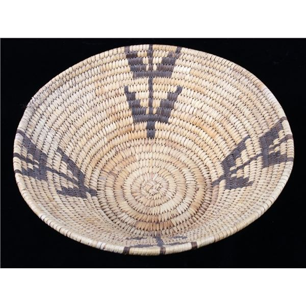 Papago Indian Hand Woven Coil Basket