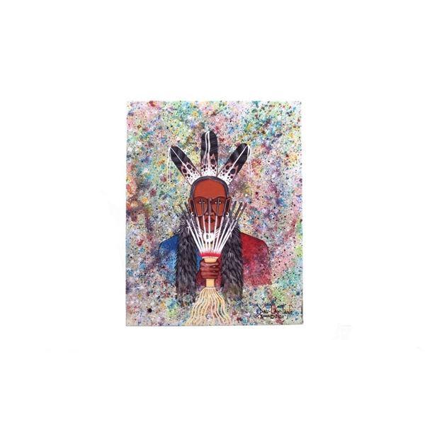 Dau-Law-Taine Kiowa Painting 2020